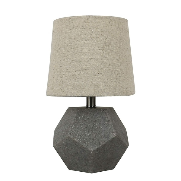 Roccio Natural Stone Accent Table Lamp, 10 inch Tall. Opens flyout.