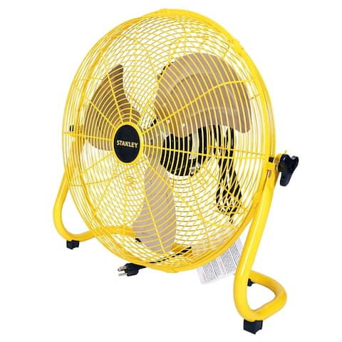 STANLEY 20 in. 3-Speed High Velocity Floor Fan