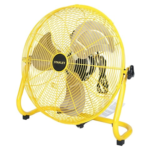 STANLEY 16 in. 3-Speed High Velocity Floor Fan