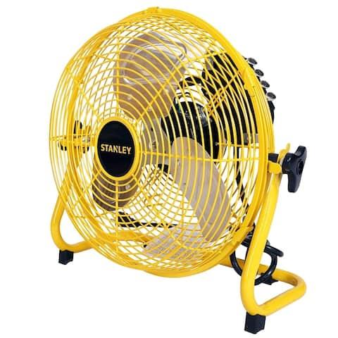 STANLEY 12 in. 3-Speed High Velocity Floor Fan