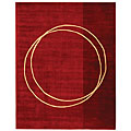 Safavieh Handmade Rodeo Drive Modern Abstract Red/ Ivory Wool Rug - multi - 7'6 x 9'6