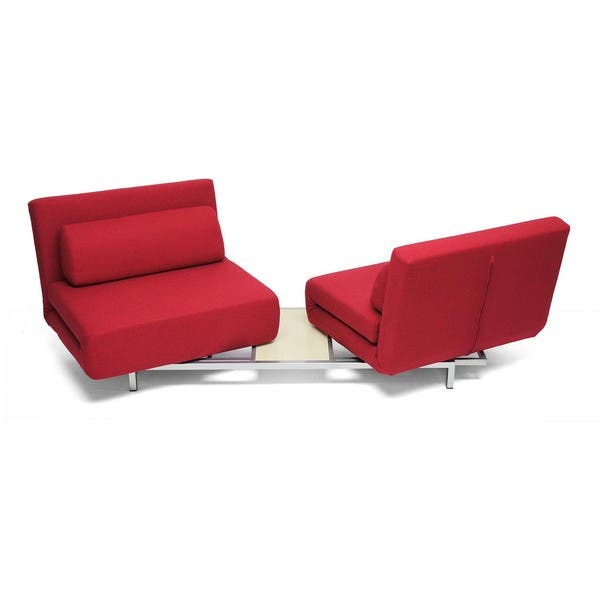 Fine Shop Anise Red Convertible Sofa Bed Free Shipping Today Pdpeps Interior Chair Design Pdpepsorg