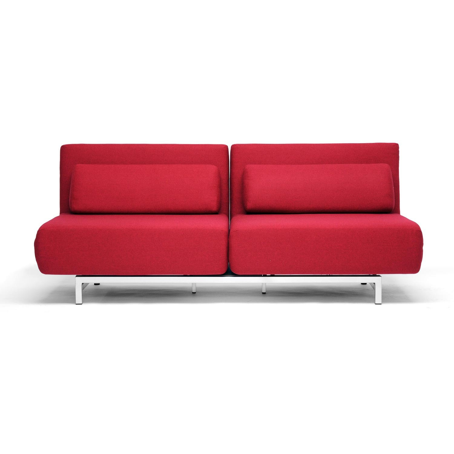 Anise Red Convertible Sofa Bed Overstock 2996870