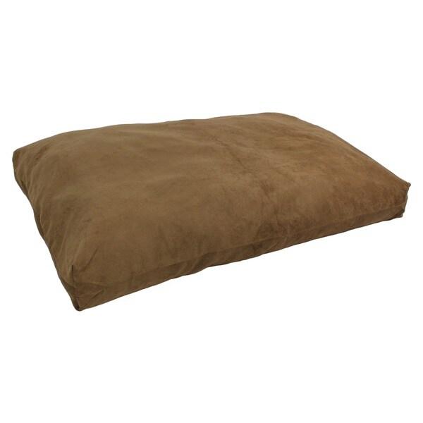 Microsuede Medium Washable Pet Bed