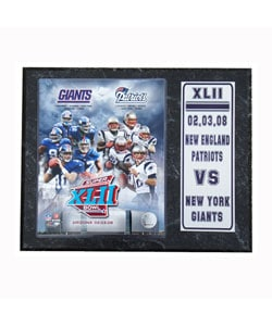 NE vs NY Football Matchup Plaque