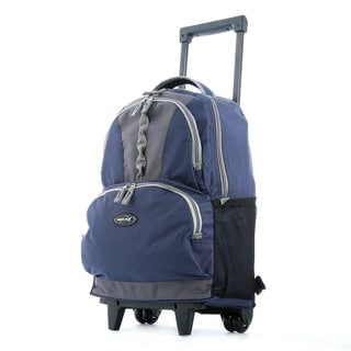 Olympia Genesis 18-inch Rolling Backpack with Retractable Handle