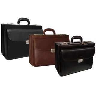 Amerileather Modern Attache Executive Briefcase (2 options available)