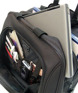 Olympia Deluxe Rolling 14.5-inch Laptop Business Carry On Tote Bag - Thumbnail 1