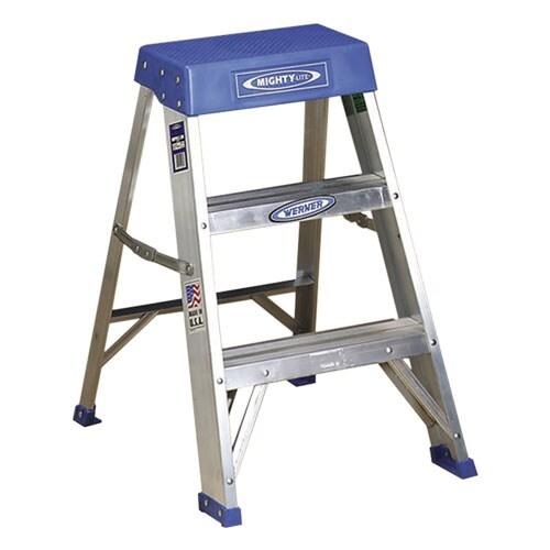Mighty Lite Step Stool 24 High Aluminum Free