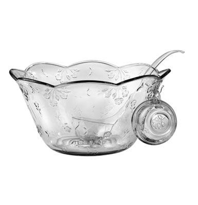 Anchor Hocking 18-piece Savannah Glass Punch Bowl Set (pack of 2)