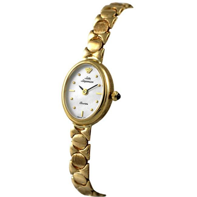 Jules Jurgensen 14k Yellow Gold Women's Watch