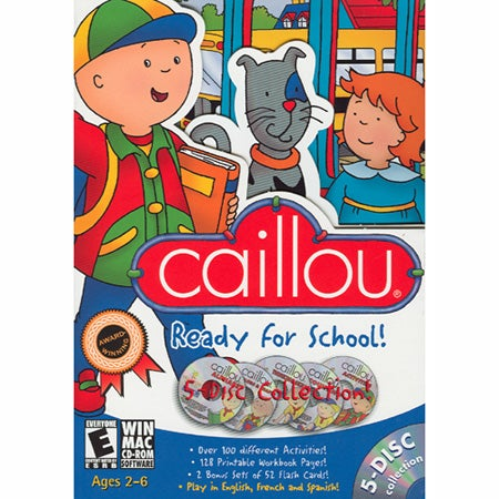 Caillou:Ready for School