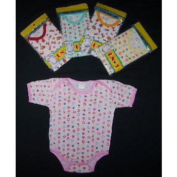 388d5bc22 Shop Printed Baby Onesies (bulk pack of 24) - Free Shipping On ...