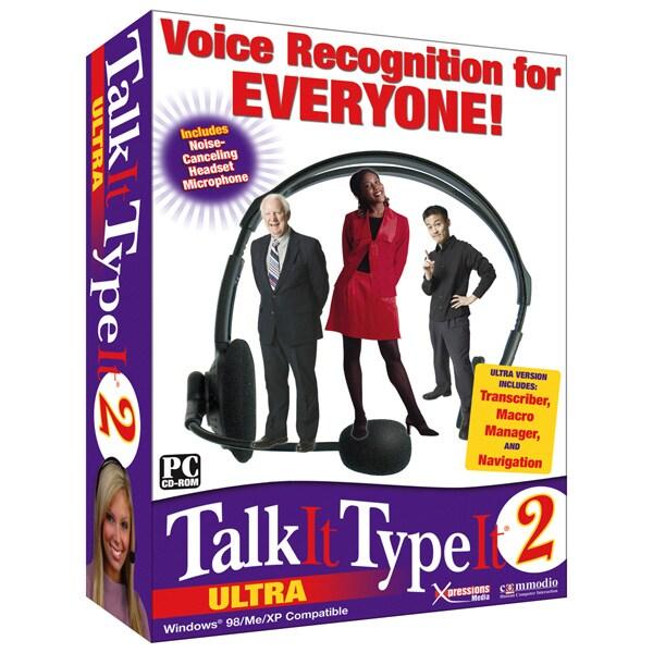 Talk It Type It 2 Ultra Software