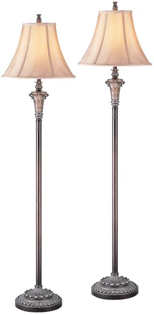 Bordeaux Traditional Floor Lamps (Set of 2)
