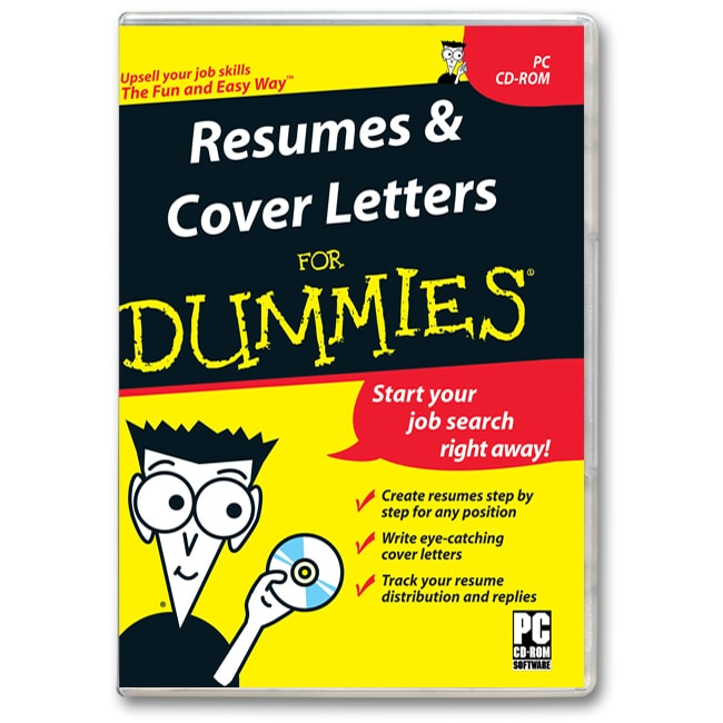 resumes and cover letters for dummies free shipping on orders over