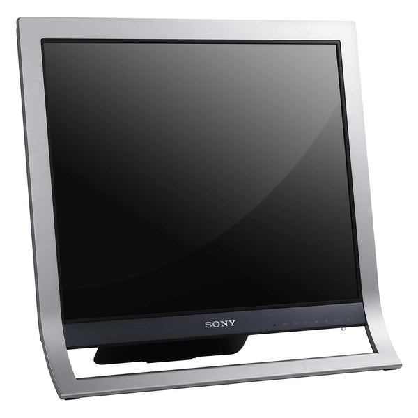 Sony SDM-HS75P/S 17 inch Flat Panel LCD Monitor (Silver) (Refurbished)