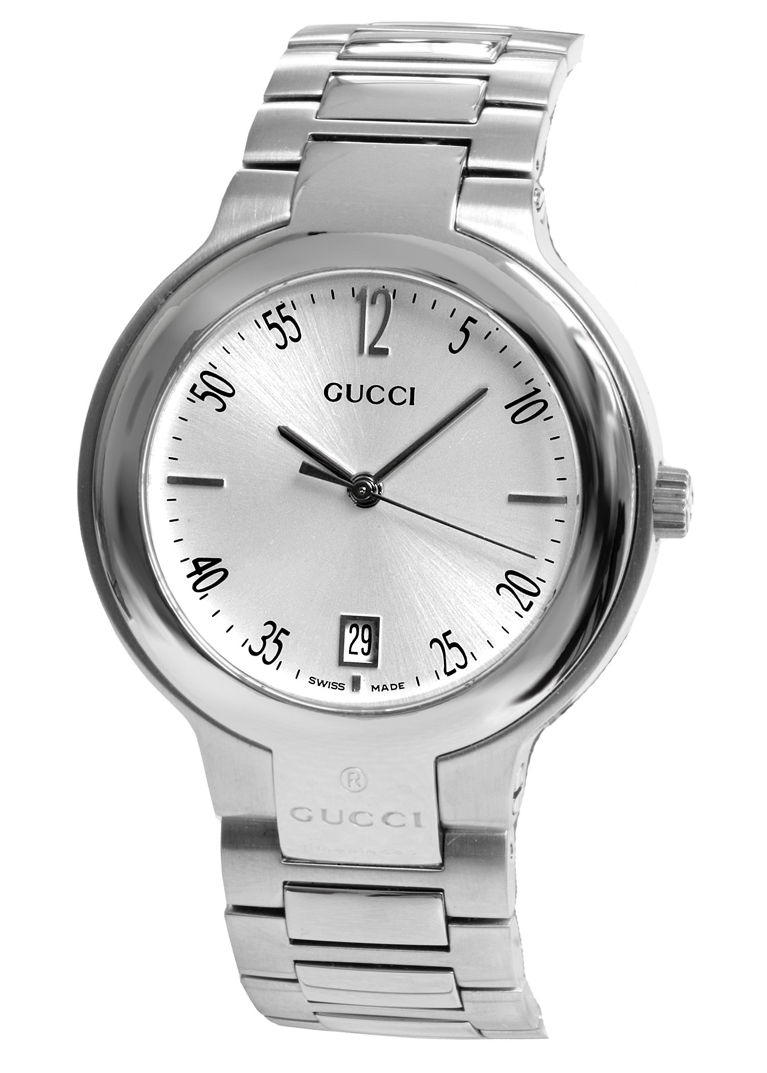 7c189a461b3 Shop Gucci 8905M Stainless Steel Silver Dial Watch - Free Shipping Today -  Overstock - 2682362