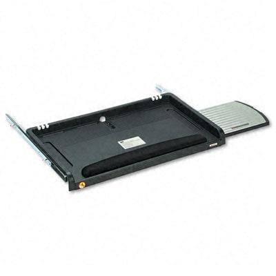 3M Adjustable Underdesk Keyboard Drawer With Gel Wrist Rest U0026amp; Mouse Tray