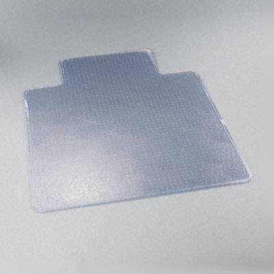 ExecuMat Vinyl Chair Mat for Highest Pile/ Plush Padded Carpet