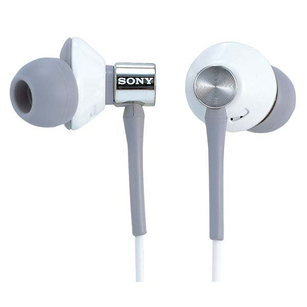 Sony MDR-EX85LP White Bud Style Headphones