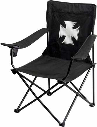 Iron Cross Folding Chair