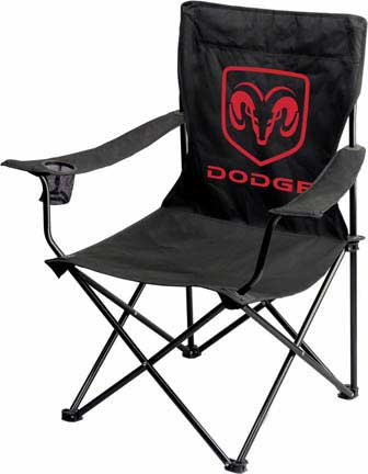 Dodge Ram Head Folding Chair Free Shipping On Orders