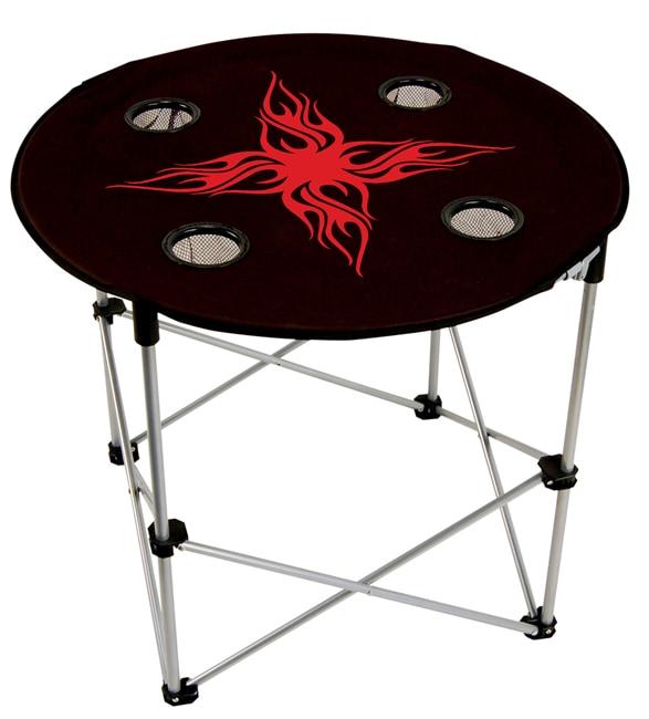 Impala Black Folding Table
