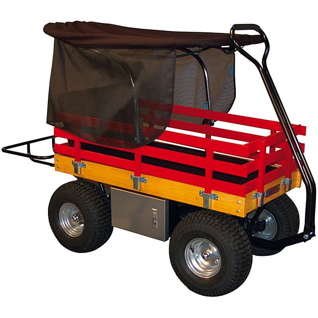 Red Wagon Ice Chest