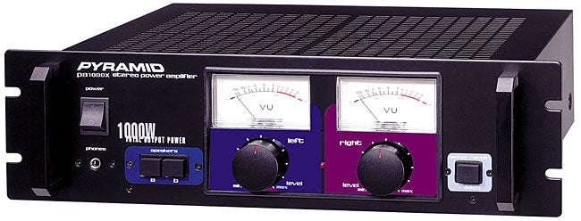 Pyramid 1000 Watt Professional Power Amplifier Free