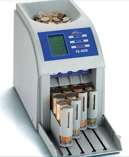 Royal Sovereign Fs4d Complete Auto Coin Sorter Free