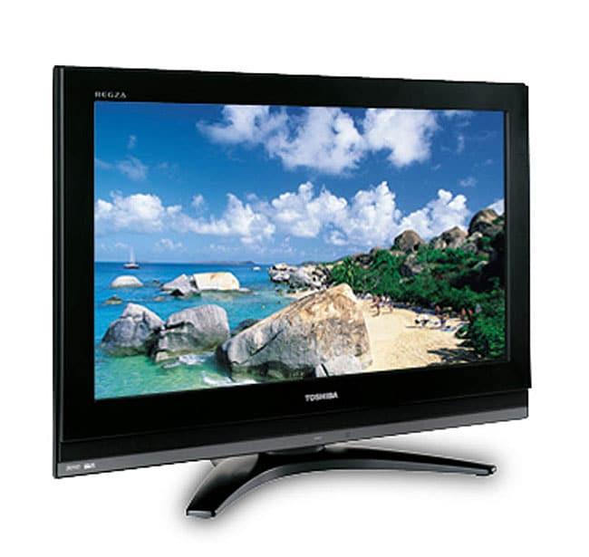 Toshiba 37-inch Diagonal Regza Lcd Tv  Refurbished  - Free Shipping Today - Overstock Com
