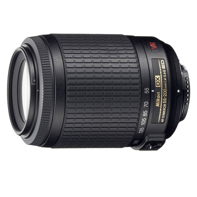 Nikon 55-200mm AF DX VR Zoom Nikkor Camera Lens