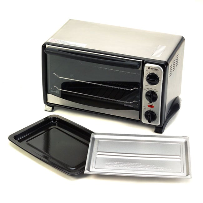 Shop Euro Pro 1200 Watt 6 Slice Convection Toaster Oven