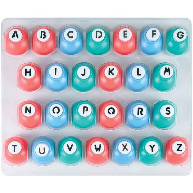 Fiskars 26-piece Alphabet Punch Set