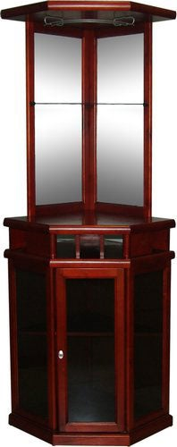 Mahogany Finish Corner Bar Free Shipping Today