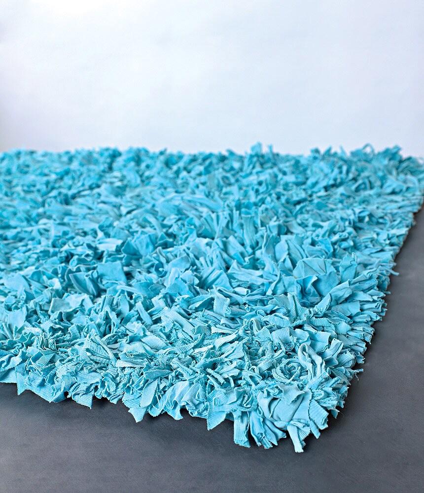 Handmade Safiro Contemporary Cotton Rug (5' x 8')
