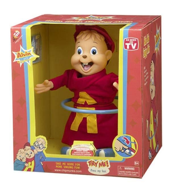 Alvin The Chipmunk Hula Hoop Singing Doll For Kids Free