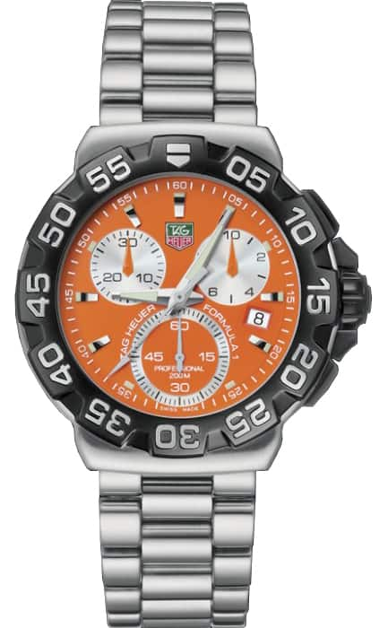 Tag Heuer Men's CAH1113.BA0850 'Formula 1' Chronograph Stainless Steel Watch