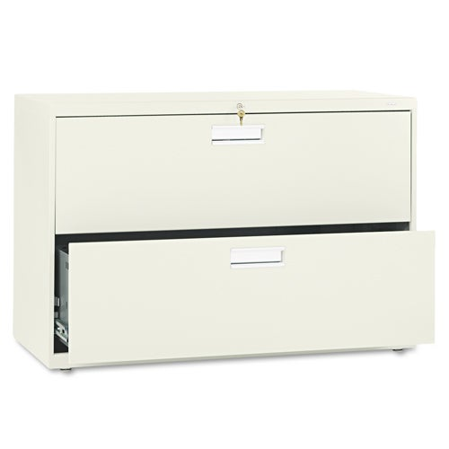 HON 600 Series 42-inch Wide 2-Drawer Lateral File Cabinet