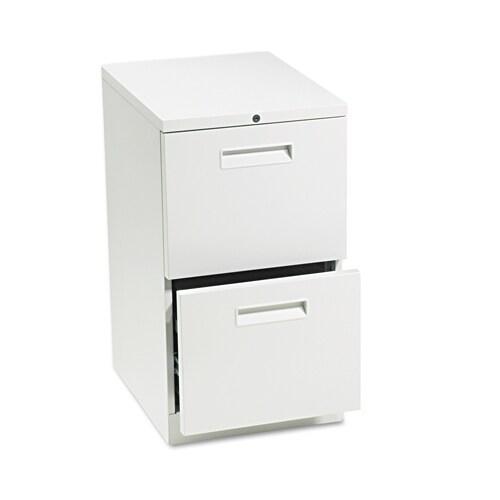 Maxon Mobile 2 Drawer Pedestal File Cabinet