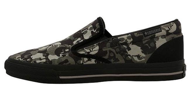Shop Converse Skid Grip EV Slip On Unisex Shoes - Free Shipping On ... 16d12bbc7