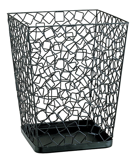 Square Wire Wastebasket