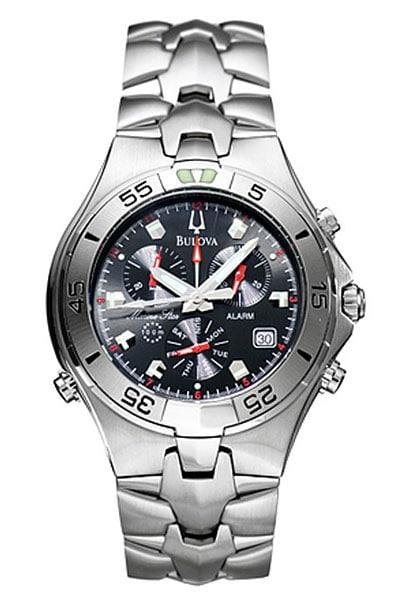 Bulova Marine Star Mens Quartz Watch