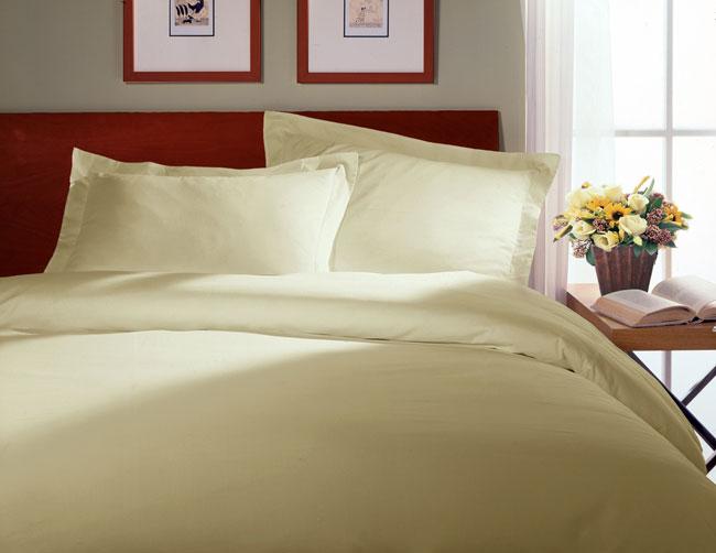 Natural Brushed Cotton Duvet Cover Set