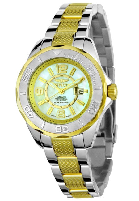 Shop Invicta Women s Pro Diver Automatic Watch - Free Shipping Today -  Overstock - 2971258 4588144d0a