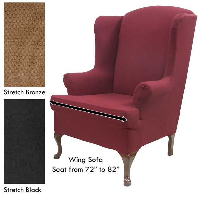 Stretch Wingback Sofa Slipcover Free Shipping Today  : L11130769 from www.overstock.com size 650 x 650 jpeg 33kB