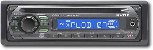sony cdx gtw watt mp cd auto receiver refurb sony cdx gt21w 200 watt mp3 cd auto receiver refurb