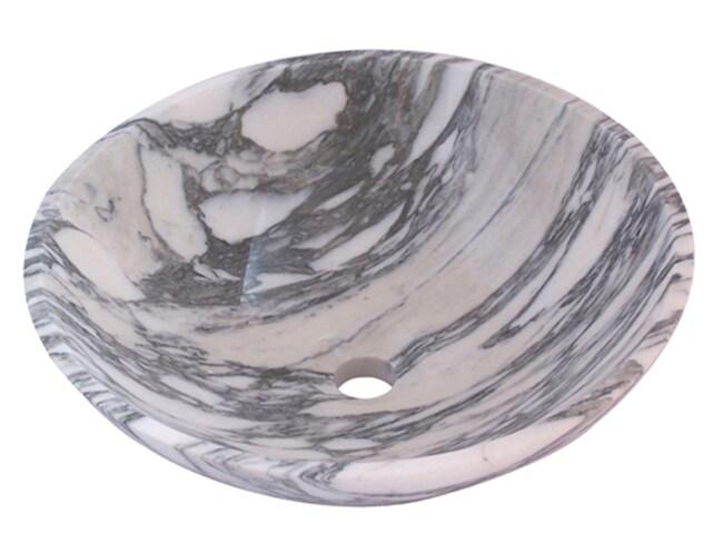 DeNovo Opal Stone Vessel Sink Set