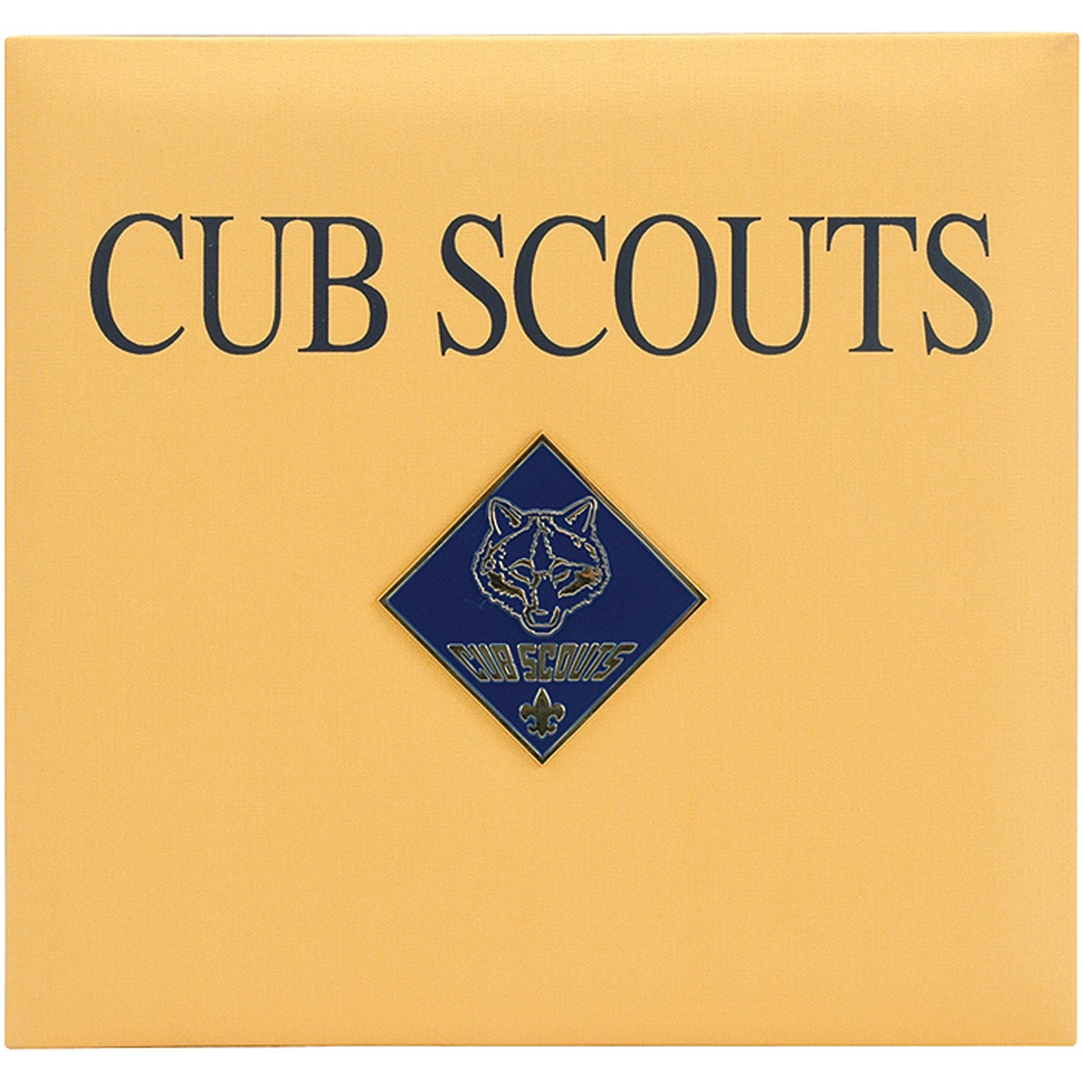 cub scout medallion 12 x 12 postbound scrapbook free